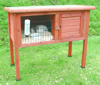 an Outdoor Hutch