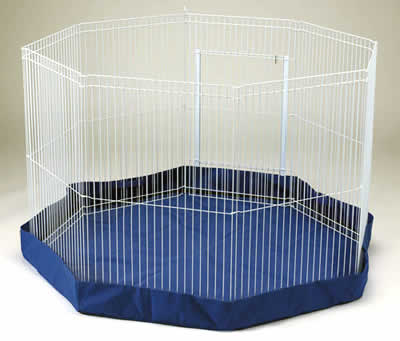 An indoor playpen